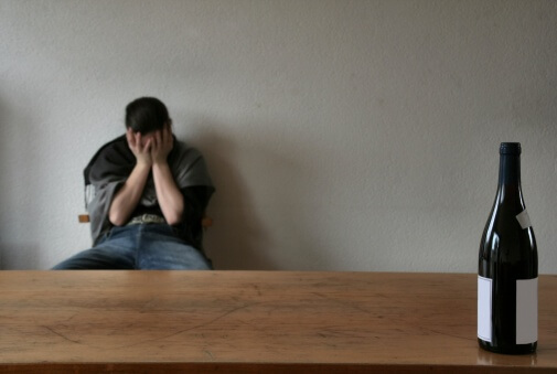 Recognizing the signs of alcoholism can bring him to despair.
