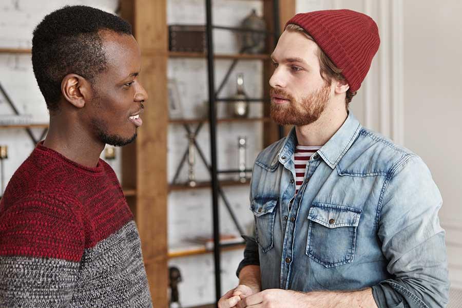 Men's rehab offers peer support.